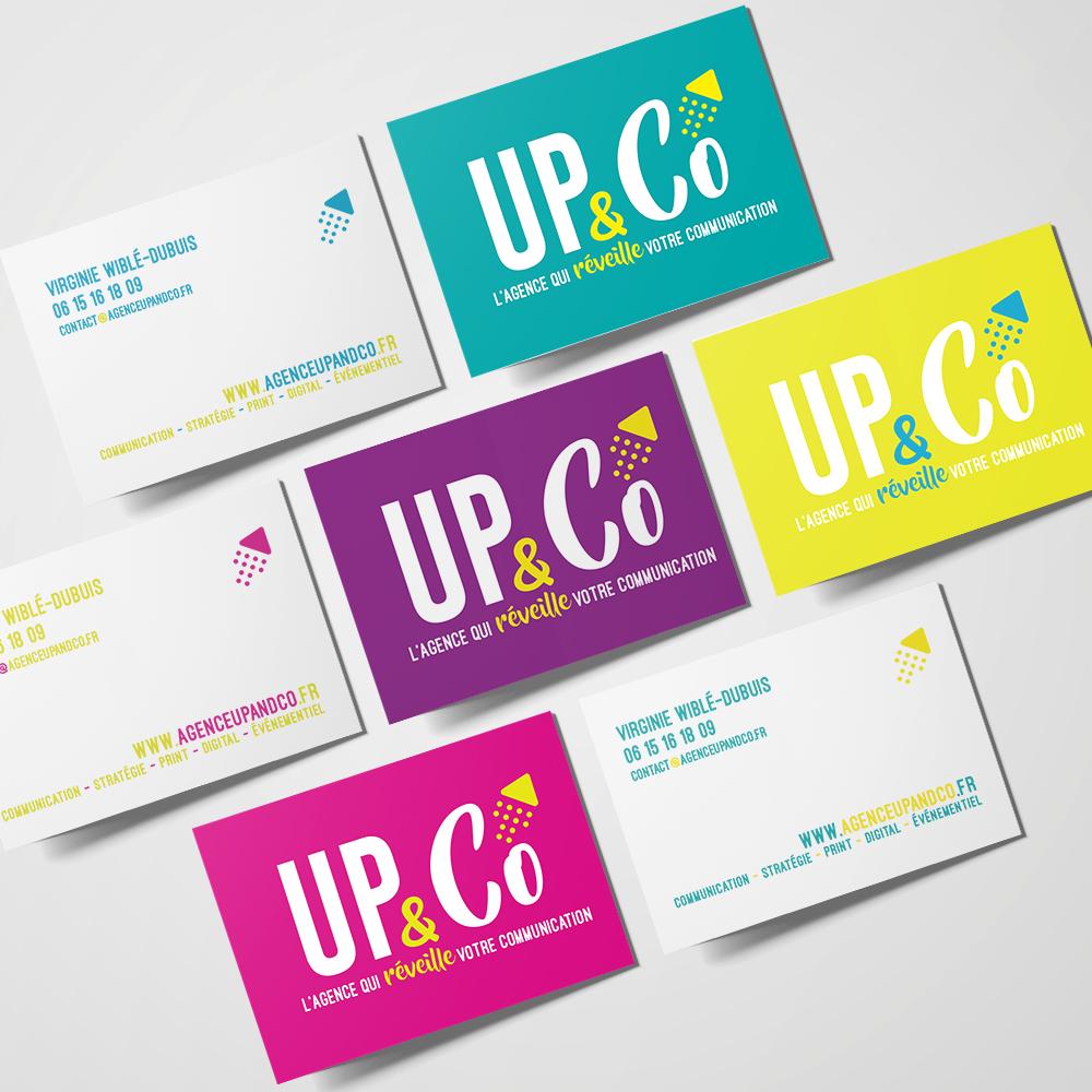 Cartes de Visite Up&Co