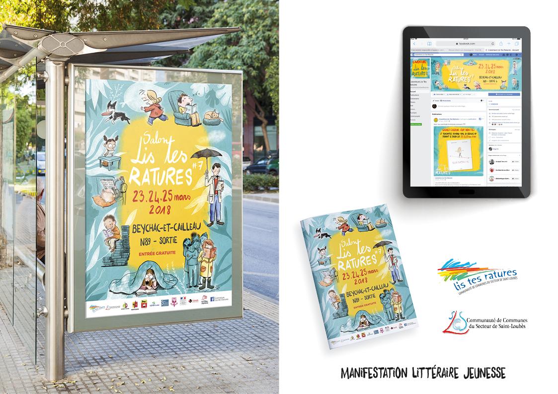 Lis Tes Ratures - Manifestation littéraire enfance et jeunesse