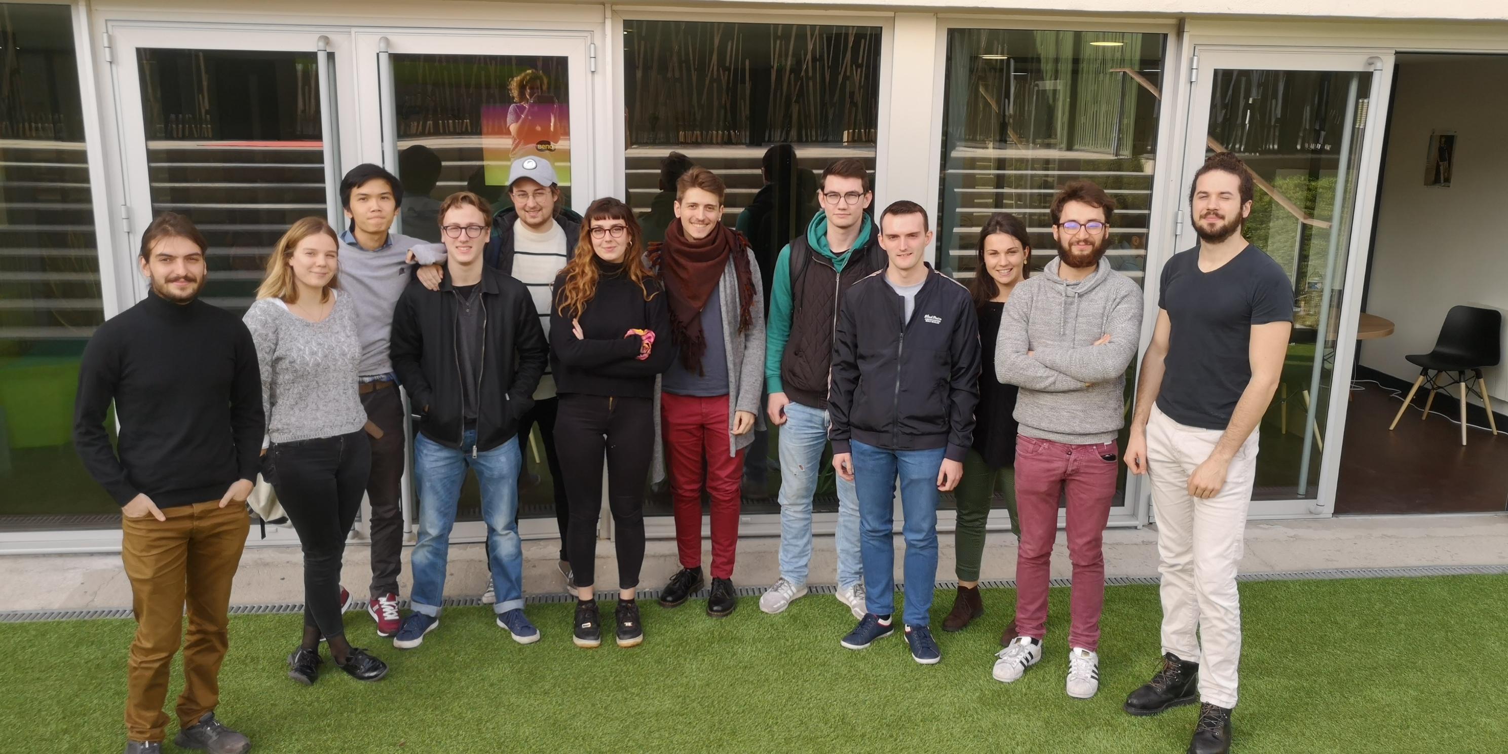 Atelier Com UE - Étudiants entrepreneurs
