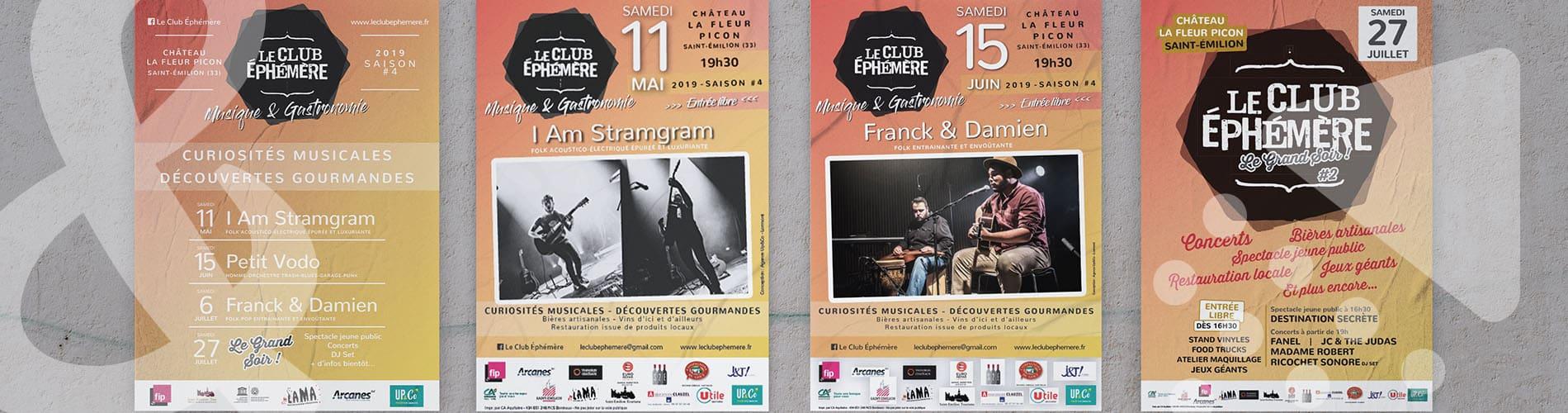 Le Club Éphémère - Concerts et Festival - Saint-Emilion